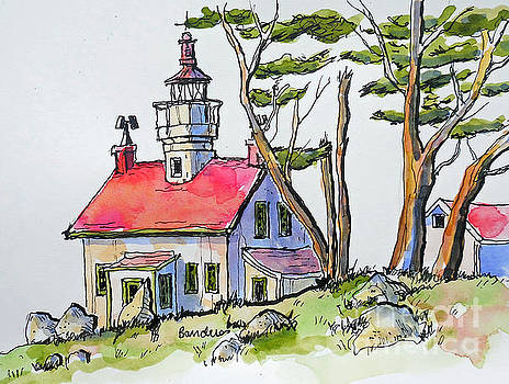Battery Point Lighthouse by Terry Banderas