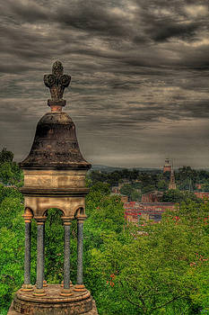 Jason Blalock - Battey Mausoleum Overlooking Downtown Rome