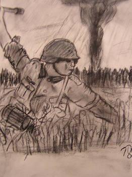 Battle in Europe by John DeRoy