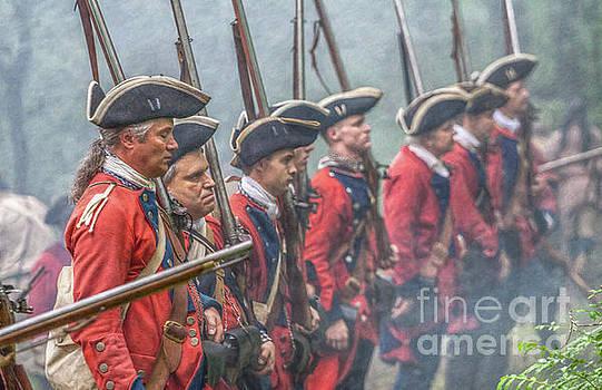 Randy Steele - Battle Line British Soldiers