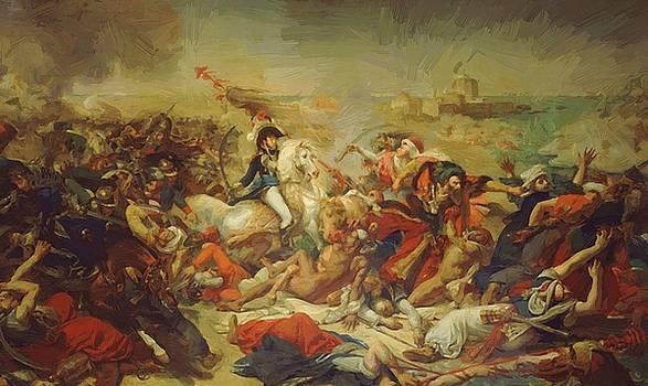 Battle Of Aboukir July 25  by Gros AntoineJean