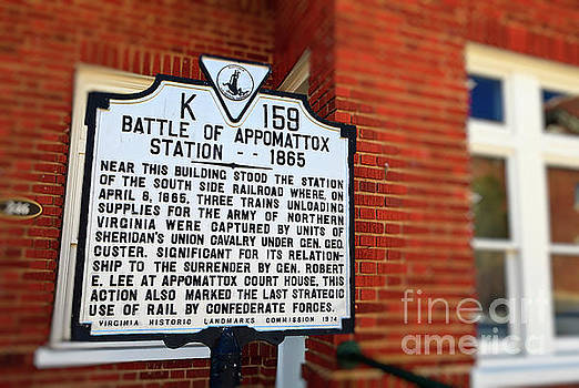 Jill Lang - Battle of Appomattox Historical Marker