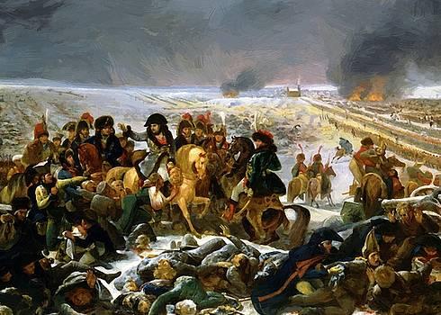 Battle Of Eylau February 9 1807 by Gros AntoineJean