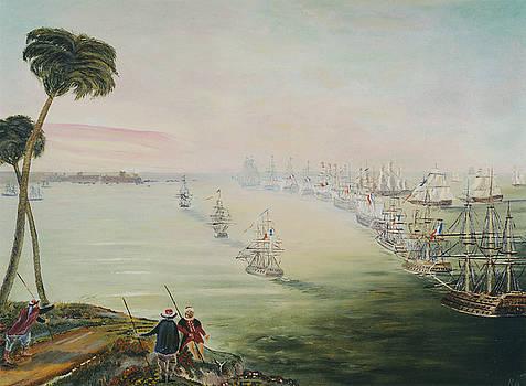 Battle Of The Nile by Richard Barham
