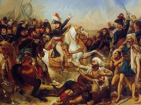 Battle Of The Pyramids 1810 by Gros AntoineJean