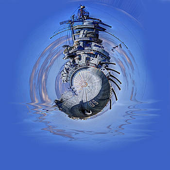 Barry Jones - Battleship - Contemporary Digital Art