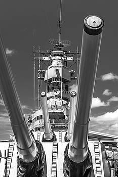 Battleship Missouri by Colleen Coccia