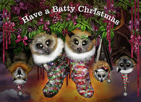 Batty Christmas by Roz Paterson
