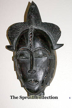 Baule Tribal Mask by Everett Spruill