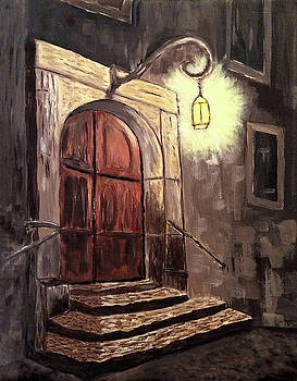 Bavarian Door by Connie Spencer