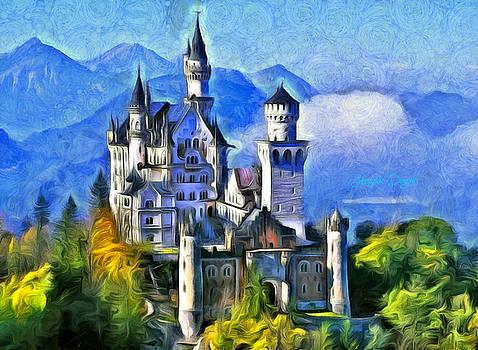 Bavaria's Neuschwanstein Castle by Leonardo Digenio