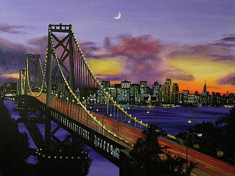 Bay Bridge by Aaron Joseph Gutierrez