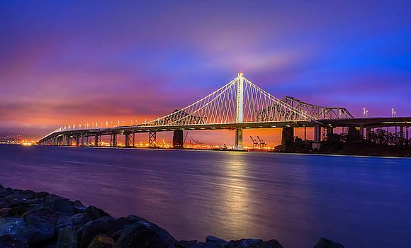 Bay Bridge by Srikanth Srinivasan