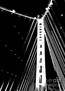 Bay bridge night  by Wonju Hulse