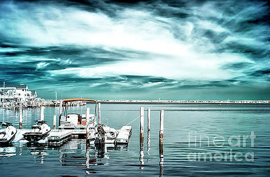 John Rizzuto - Bay Morning Infrared at Long Beach Island