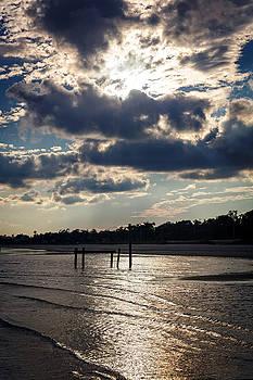 Bay St Louis Beach by Sennie Pierson