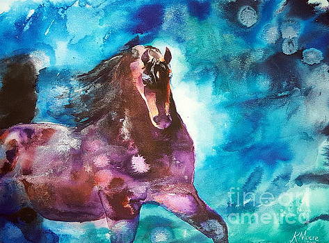 Bay Stallion by Kristine Moore