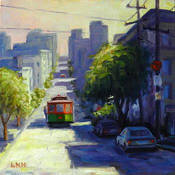Bay Street San Francisco by Ningning Li