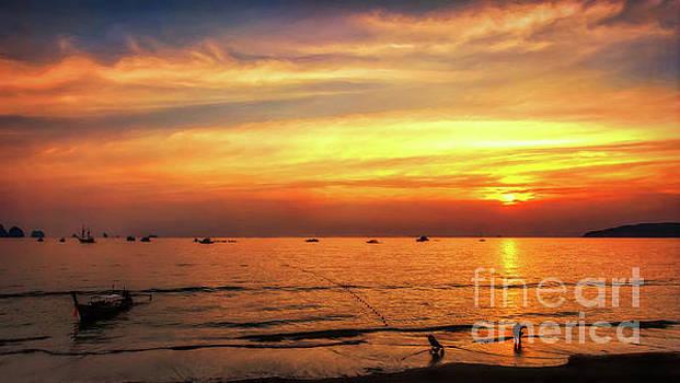 Adrian Evans - Bay Sunset