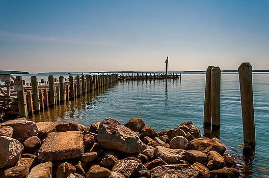 Bayfield City Dock by Lonnie Paulson