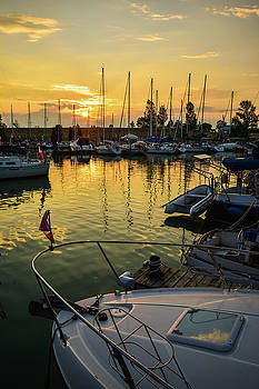 Bayfield Sunset by Karl Anderson