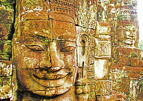 Dennis Cox - Bayon Temple Faces