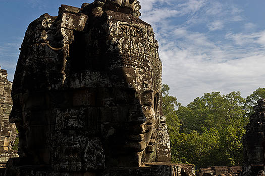 Bayon Temple, Siem Reap by Alex Leonard