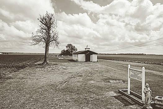 Scott Pellegrin - Bayou Country Church - sepia