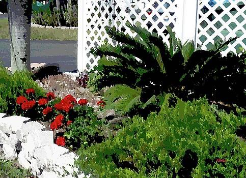 Bayshore Garden by Peggy De Haan