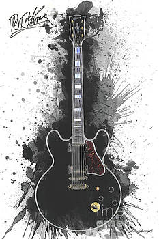 BB King Guitar by Tim Wemple