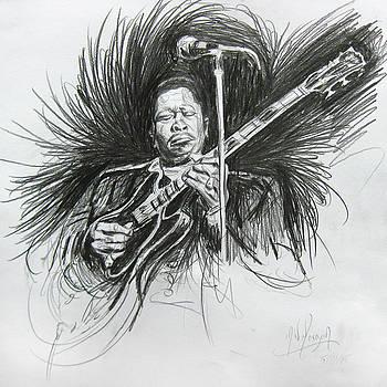 BB King by Michael Morgan