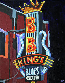 BB King's Blues Club by Melinda Patrick