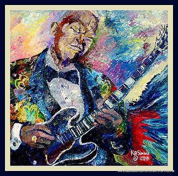 B. B. King Of Blues by Keith OBrien Simms