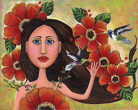 Be a wildflower by Clover Moon Designs Peggy Sowers-Heckman