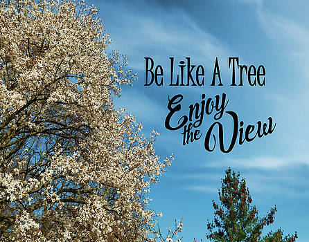 Be Like A Tree- Enjoy the View by Judi Saunders