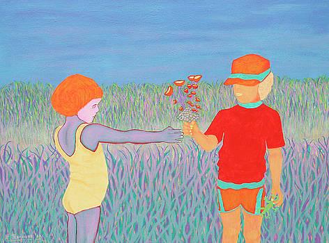 Be Mine by Ken Tesoriere by Lyric Artists