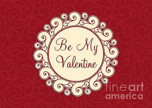 Be My Valentine Swirl by JH Designs