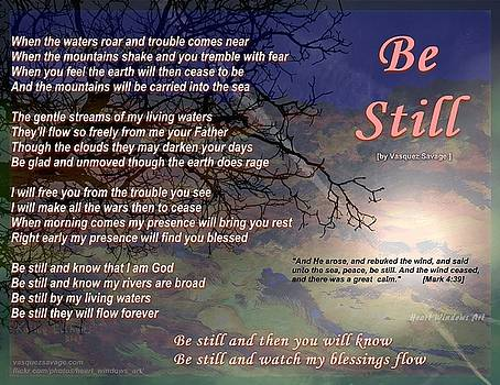 Be Still by Kathleen Luther