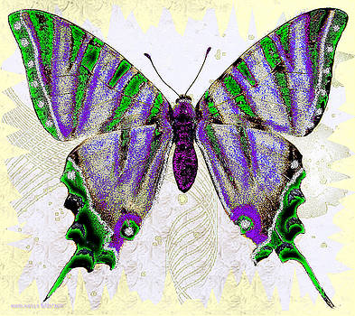 Be Who U R Butterfly by Cheri Doyle