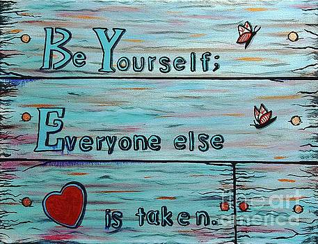 Barbara Griffin - Be Yourself  Everyone Else is Taken