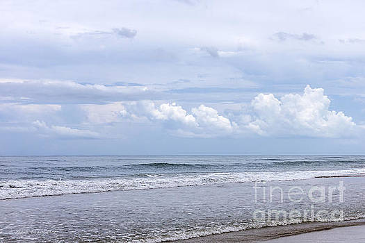 Beach and Clouds by Todd Blanchard