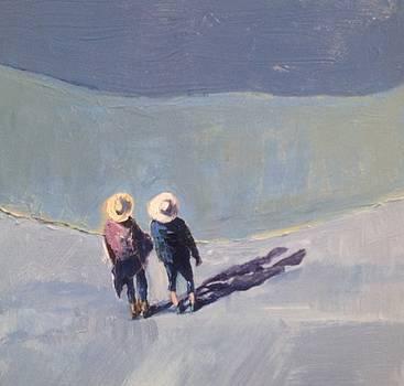 Beach Angles 3 by Judy Pfeifer