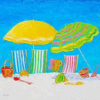 Jan Matson - Beach Art - Beach Color