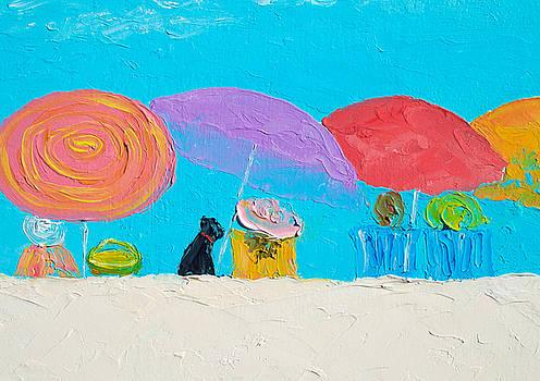 Jan Matson - Beach Art - Soaking up the sun