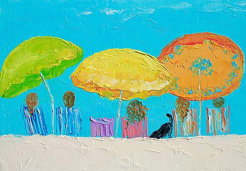 Jan Matson - Beach Art - Sunny Day