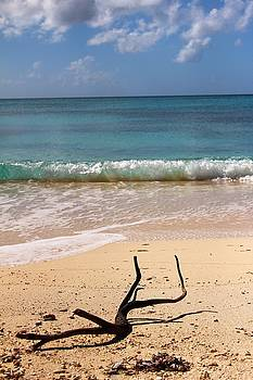 Beach at Grand Turk Drift to the Island by Robert Smith