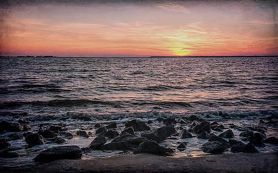 Andrew Wilson - Beach At Sunset