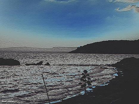 Dee Flouton - Beach at Twilight