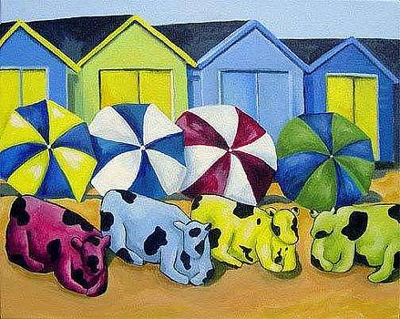 Beach Babes by Karen OLone Hahn