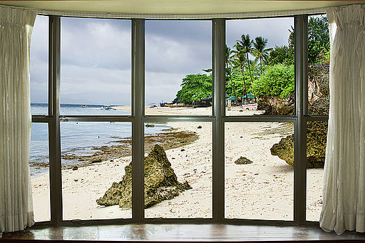 Beach Bay Window View by James BO Insogna